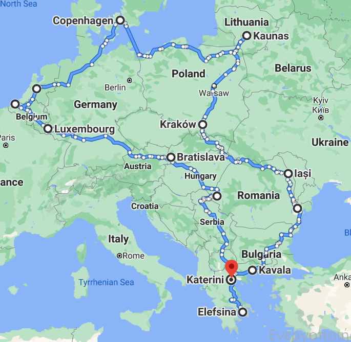 CENTRAL-EAST EUROPE ROUTE